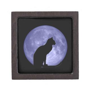 Black Cat Blue Moon Premium Gift Box