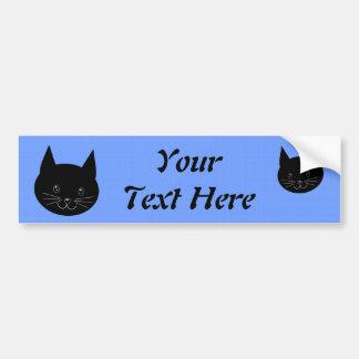 Black Cat Bumper Stickers