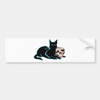 Black Cat Bumper Sticker