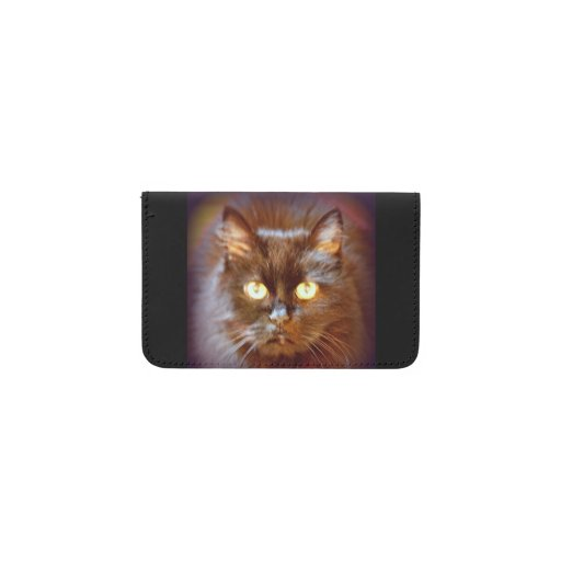 Black cat business card holder zazzle for Cat business card holder