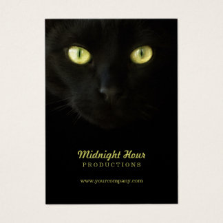 Black Cat business cards