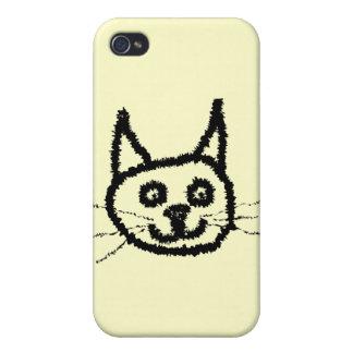 Black Cat Case For iPhone 4