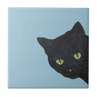 Black Cat Ceramic Tile