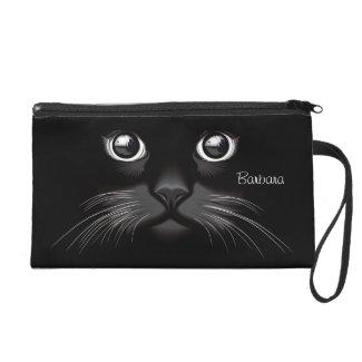 Black Cat Cosmetic Bag