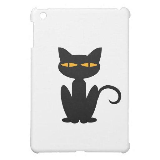 Black Cat Cover For The iPad Mini