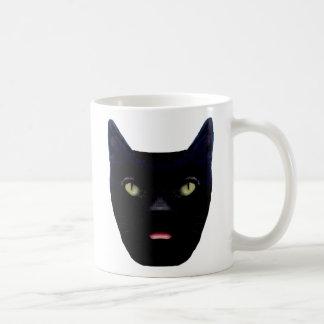 Black Cat  Cup Design Mugs