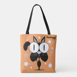 Black Cat Custom All-Over-Print Tote Bag