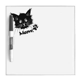 Black Cat custom message board