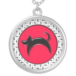 Black Cat Custom Necklace