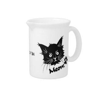 Black Cat custom pitcher