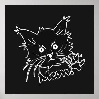 Black Cat custom poster