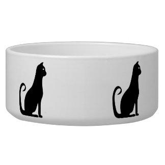 Black Cat Design Bowl