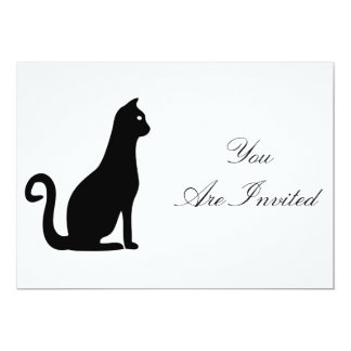Black Cat Design Card