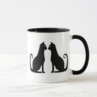 Black Cat Design Mug