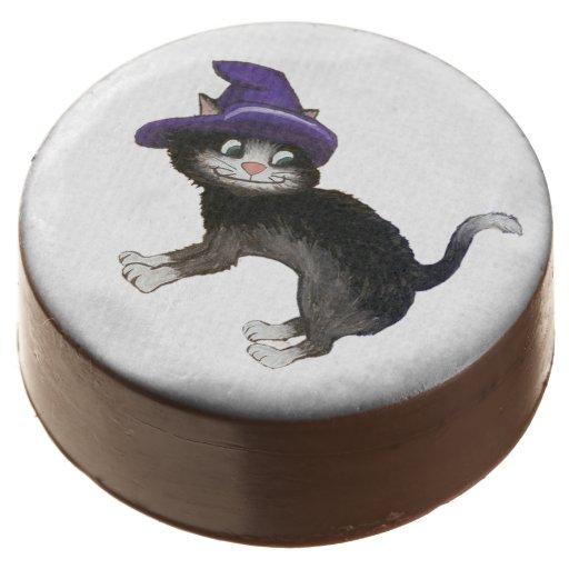 Black Cat Cookies Oreos