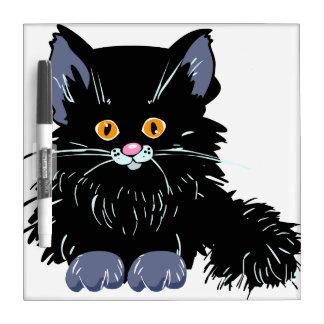 Black cat Dry-Erase board