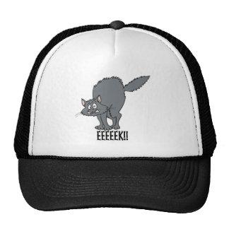 Black Cat EEEK! Mesh Hat