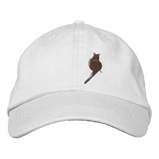 Black Cat Embroidered Hat