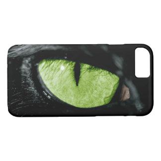Black Cat Eye iPhone 7 Case