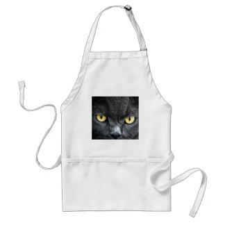 Black Cat Eyes Adult Apron