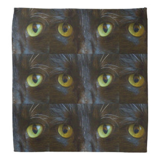 Black Cat Eyes Bandana