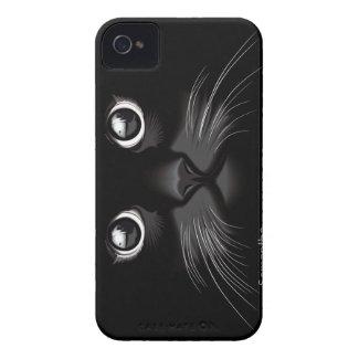 Black Cat Eyes iPhone 4 Case