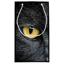 Black Cat Eyes Small Gift Bag
