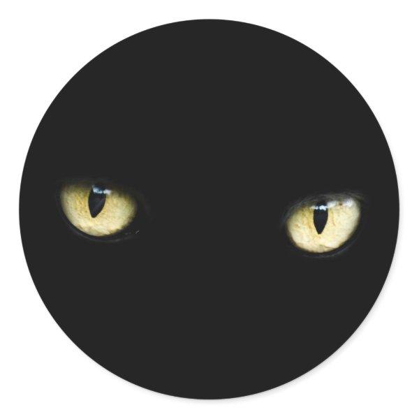 black cat eyes stickers