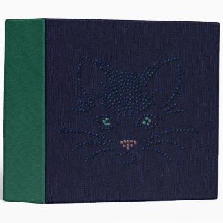 Black Cat Face Binder