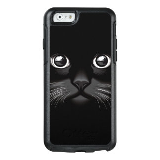 Black Cat Face Eyes OtterBox iPhone 6/6s Case