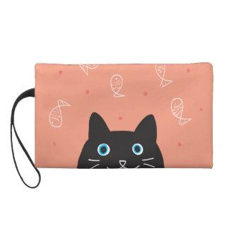 Black Cat & Fish Bagettes Bag