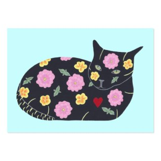 Black Cat Flowers Plants Cats Can Eat Bus. Cards Business Card
