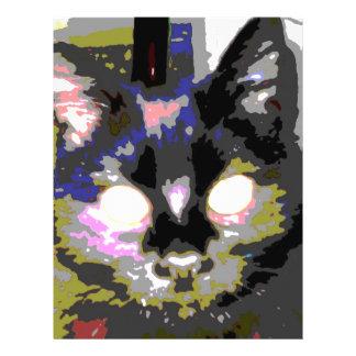 Black Cat Full Color Flyer