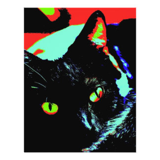 Black Cat Personalized Flyer