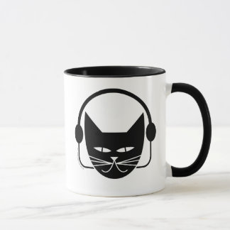 Black Cat FM Mug