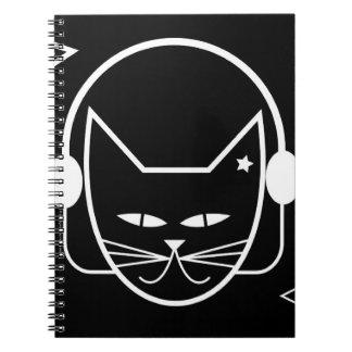 Black Cat FM Notebook