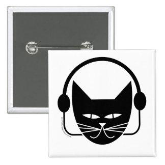 Black Cat FM Pin