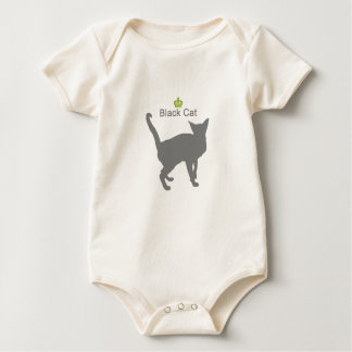 Black Cat g5 Baby Bodysuit