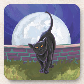 Black Cat Gifts & Accessories Drink Coaster