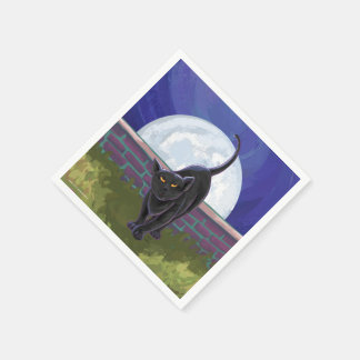 Black Cat Gifts & Accessories Napkin
