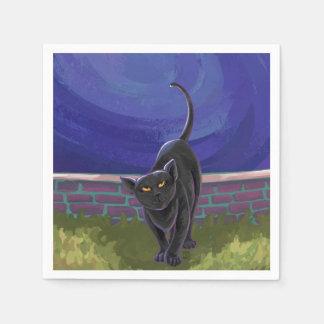 Black Cat Gifts & Accessories Paper Napkin