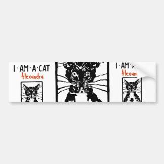 Black Cat Gifts Bumper Sticker