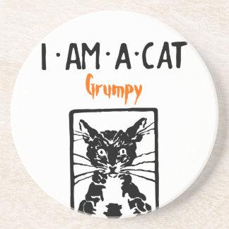 Black Cat Gifts Coaster