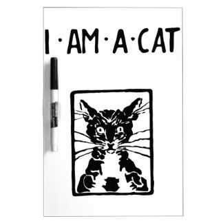 Black Cat Gifts Dry-Erase Board