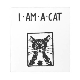 Black Cat Gifts Note Pad