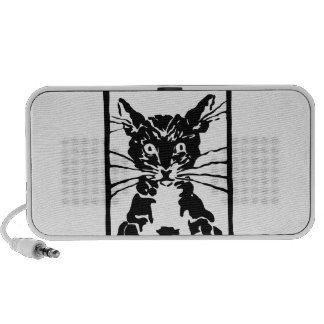 Black Cat Gifts Speakers