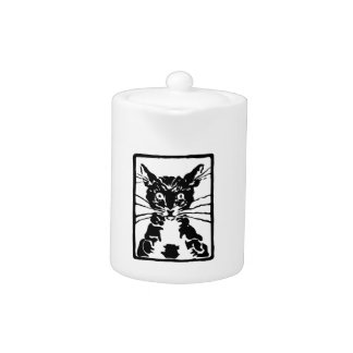 Black Cat Gifts Teapot