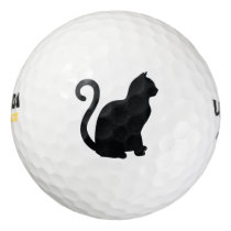 Black Cat Golf Balls