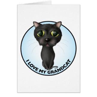 Black Cat - Grandcat Card