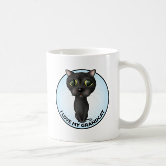 Black Cat - Grandcat Coffee Mug